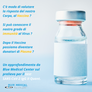 Test Anticorporale SARS – Cov – 2 Igg. Informativa